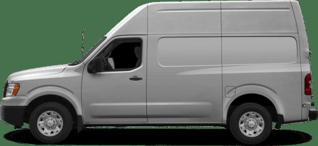 Veicolo aziendale van bianco